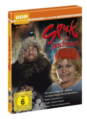 DVD - Spuk im Hochhaus - Die 7-teilige Serie (DDR TV-Archiv)