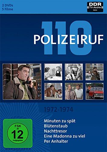 DVD - Polizeiruf 110 - Box 2 (1972-1974)
