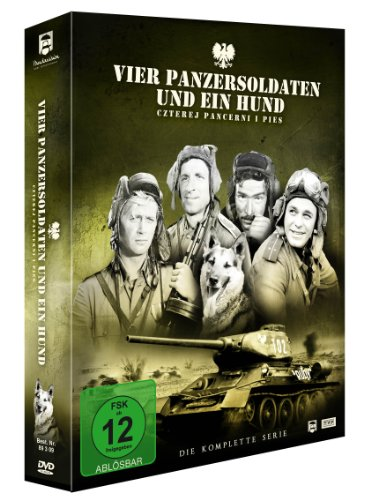 - Vier Panzersoldaten und ein Hund (7 DVDs)