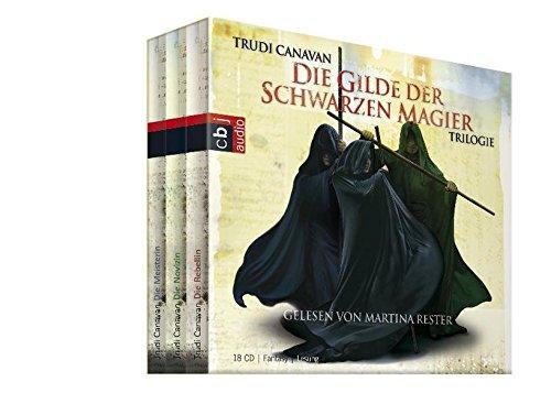 Canavan , Trudi - Die Gilde der schwarzen Magier Trilogie - Box (Die Rebellin / Die Novizin / Die Meisterin) (18CD BOXSET)