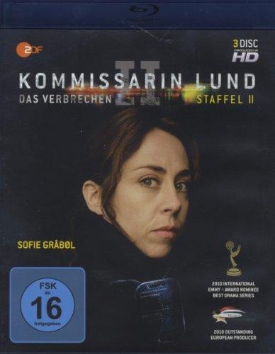 Blu-ray - Kommissarin Lund - Das Verbrechen - Staffel 2