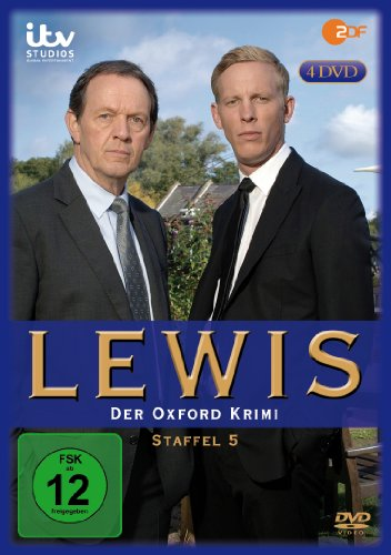 DVD - Lewis - Der Oxford Krimi: Staffel 5 [4 DVDs]