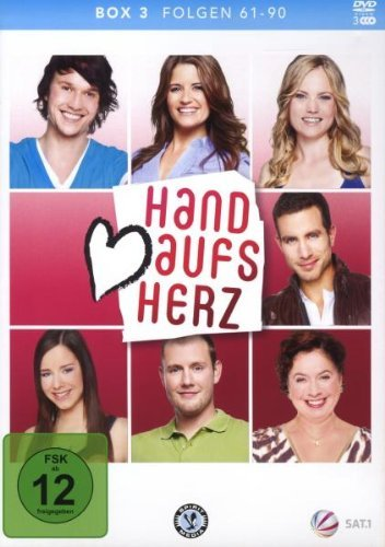 DVD - Hand aufs Herz - Box 3 (Folgen 61 - 90)