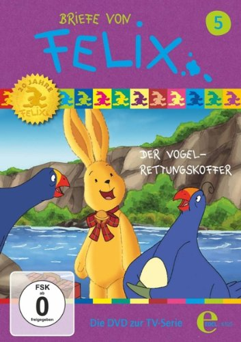 DVD - Briefe von Felix 5: Der Vogel-Rettungskoffer