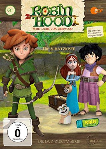 DVD - Robin Hood Schlitzohr von Sherwood - 01: Die Schatzkarte
