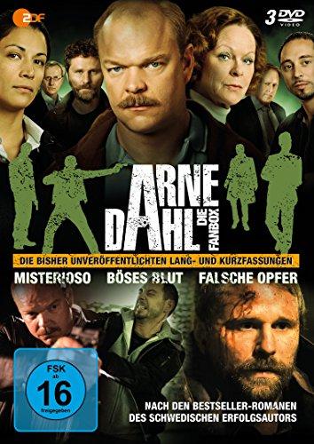 DVD - Arne Dahl - Die Fanbox (Misterioso / Böses Blut / Falsche Opfer)