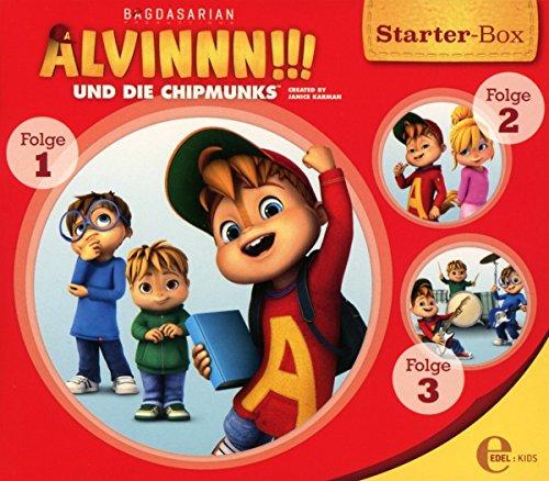 Alvinnn!!! und die Chipmunks - Alvinnn!!! ubnd die Chipmunks - Starter-Box (1: Der magische Geburtstag / 2: Gemeinsam sind wir stark / 3: Das Musikfestival)