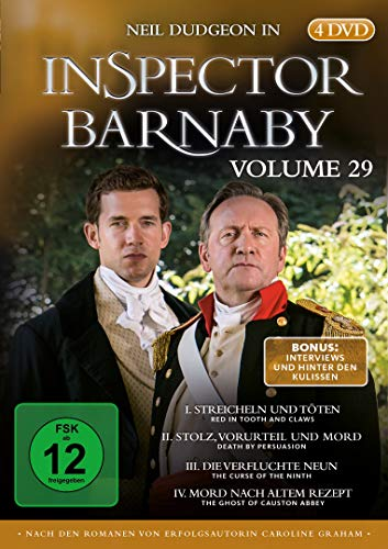 DVD - Inspector Barnaby Vol. 29 [4 DVDs]