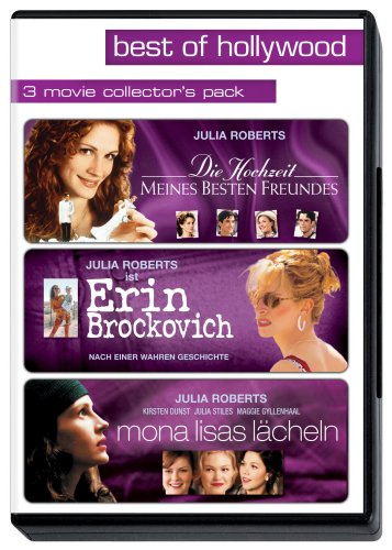 DVD - Best of Hollywood - 3 Movie Collector's Pack: 3 Julia Roberts - Filme