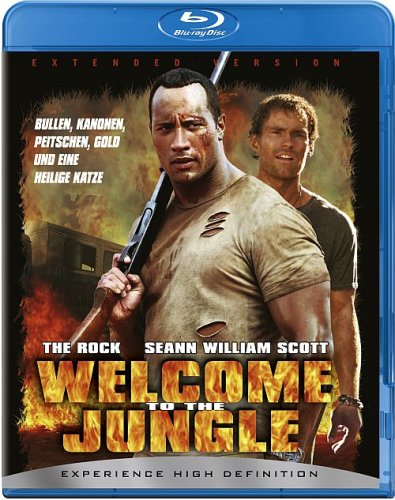 Blu-ray - Welcome to the Jungle (Extended Version)