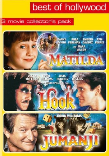 DVD - Matilda / Hook / Jumanji (3 Movie Collector's Pack) (Best of Hollywood)