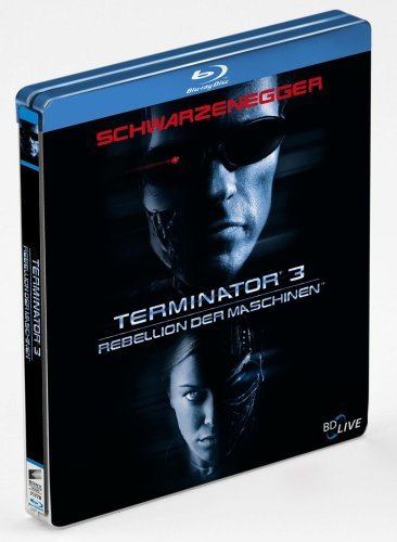 Blu-ray Disc - Terminator 3 - Rebellion der Maschinen - Steelbook