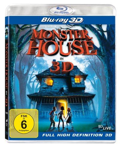 Blu-ray - Monster House 3D