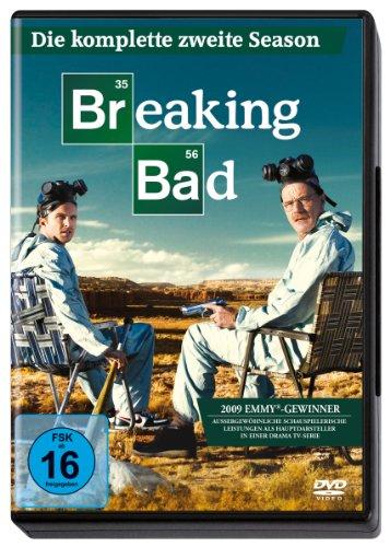 DVD - Breaking Bad - Staffel 2 (Amaray Box)