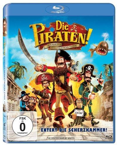 Blu-ray - Die Piraten - Ein Haufen merkwürdiger Typen