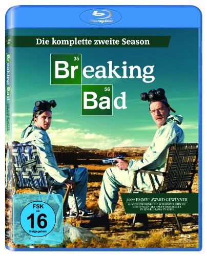 Blu-ray - Breaking Bad - Die komplette zweite Season [3 Blu-ray]