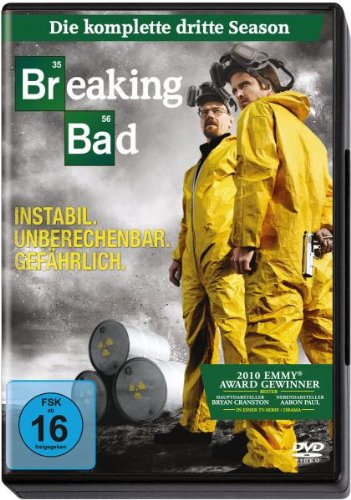 DVD - Breaking Bad - Die komplette dritte Season [4 DVDs]