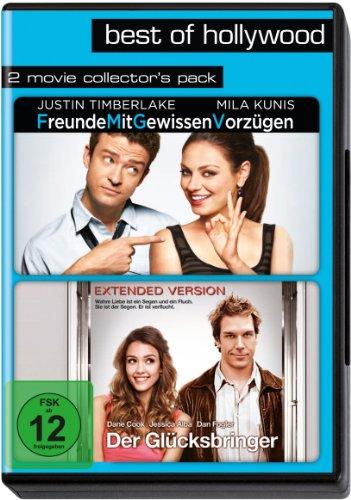 DVD - Freunde mit gewissen Vorzügen / Der Glücksbringer (Best of Hollwood 2 Movie Collector's Pack)