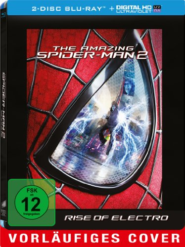 Blu-ray - The Amazing Spider-Man 2 (Steelbook Edition)