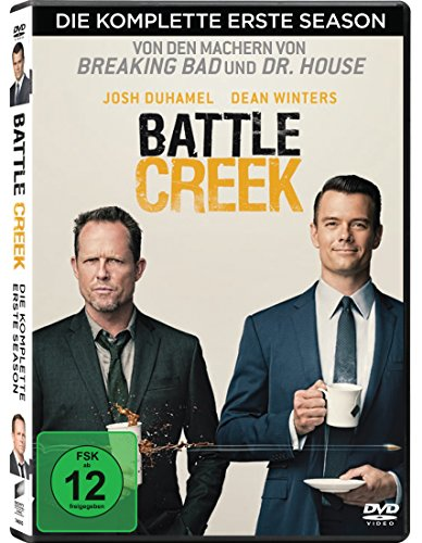DVD - Battle Creek - Staffel 1