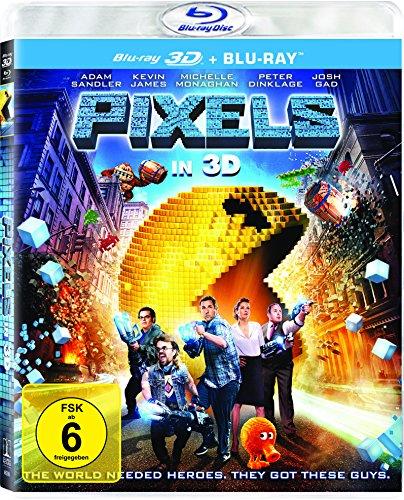 Blu-ray - Pixels 3D ( Blu-ray)