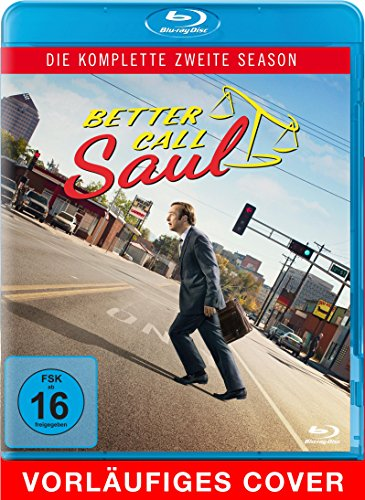 Blu-ray - Better Call Saul - Die komplette zweite Season (3 Discs) [Blu-ray]
