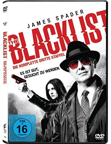 DVD - The Blacklist - Staffel 3 (6 Discs)