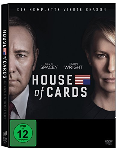DVD - House of Cards - Die komplette vierte Season (4 Discs)