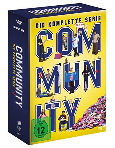 DVD - Community - Die komplette Serie (17 Discs) (exklusive Vorab-Veröffentlichung bei Amazon.de)