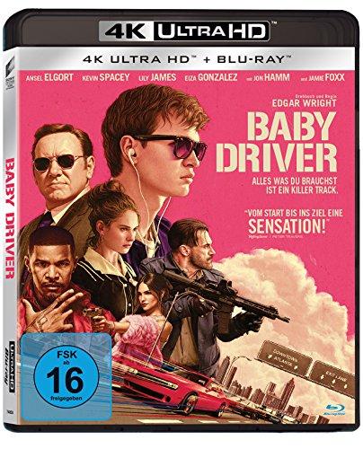 Blu-ray - Baby Driver Ultra HD (  Blu-ray)