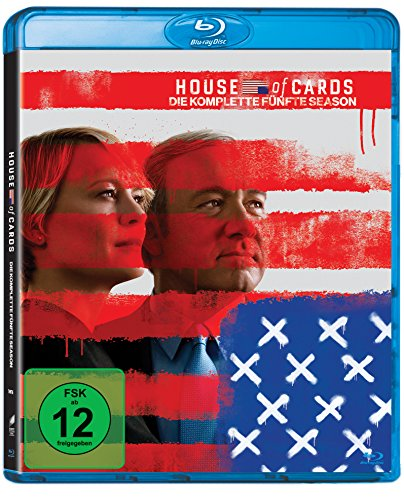 Blu-ray - House of Cards - Die komplette fünfte Season (4 Discs) [Blu-ray]