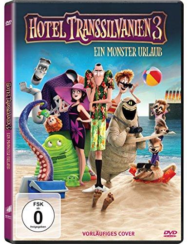 DVD - Hotel Transsilvanien 3 - Ein Monster Urlaub (  2 Kurzfilme)