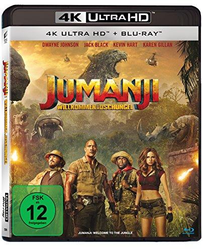 Blu-ray - Jumanji - Willkommen im Dschungel Ultra HD (  Blu-ray)
