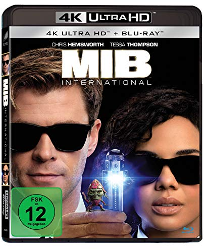 Blu-ray - MIB: International Ultra HD (  Blu-ray)