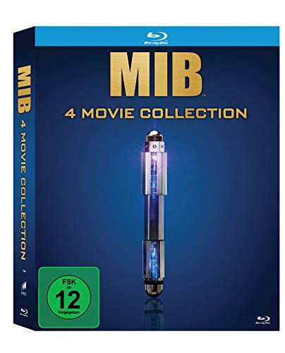 Blu-ray - Men In Black 1-4 - MIB 4 Movie Collection (Limited edition)