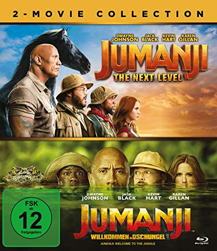 Blu-ray - Jumanji: The Next Level / Jumanji: Willkommen im Dschungel (2-Movie Collection)