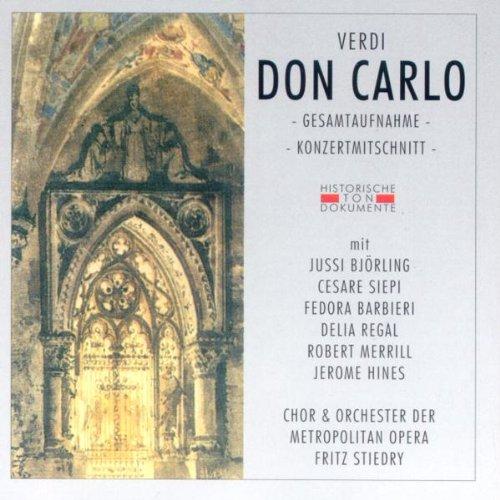 Verdi , Giuseppe - Don Carlo - GA (Stiedry)
