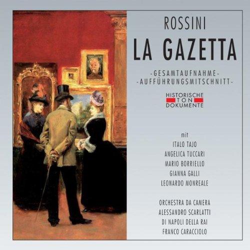 Rossini , Gioacchino - La Gazetta (GA) (Tajo, Tuccari, Borriello, Galli, Monreale, Caracciolo)