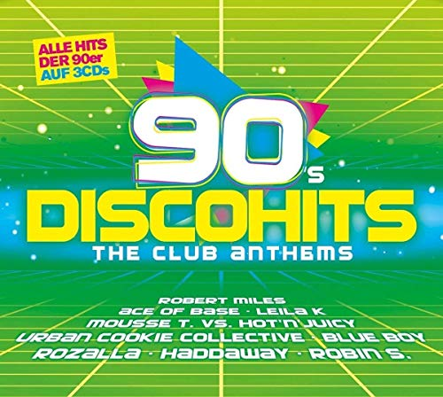 Sampler - 90s Discohits - The Club Anthems