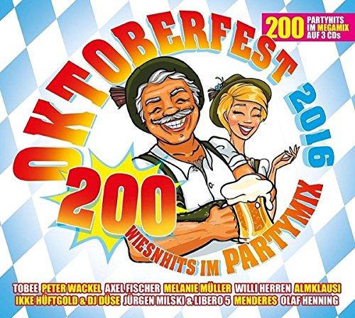 Sampler - Oktoberfest 2016 - 200 Wiesnhits im Partymix