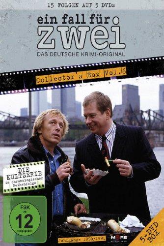 DVD - Ein Fall für Zwei - Collector's Box 6 (Folgen 76 - 90)