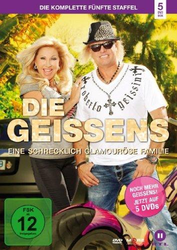 DVD - Die Geissens - Eine schrecklich glamouröse Familie: Die komplette fünfte Staffel [5 DVDs]