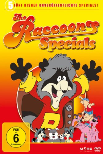 DVD - The Raccoons Specials