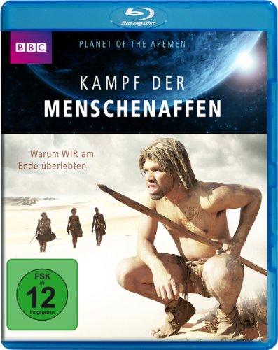 Blu-ray - Kampf der Menschenaffen (BBC)