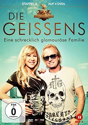 DVD - Die Geissens - Eine schrecklich glamouröse Familie: Staffel 9 [4 DVDs]