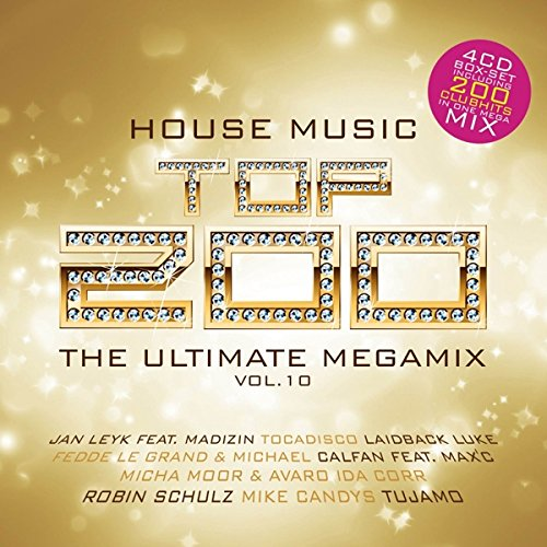 Sampler - House Music Top 200 - The Ultimate Megamix 10