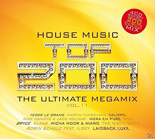 Sampler - House Music Zp 200 - The Ultimate Megamix 11