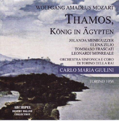 Mozart , Wolfgang Amadeus - Thamos, König In Ägypten (GA) (Giulini)