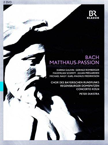- BACH: Matthäus-Passion (Chor des BR, Regensburger Domspatzen, München, 2013) [DVD]