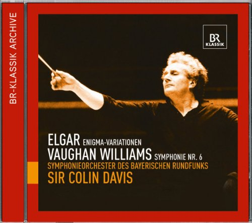 Davis , Colin & SOBR - Elgar: Enigma-Variationen / Vaughan Williams: Symphonie Nr. 6
